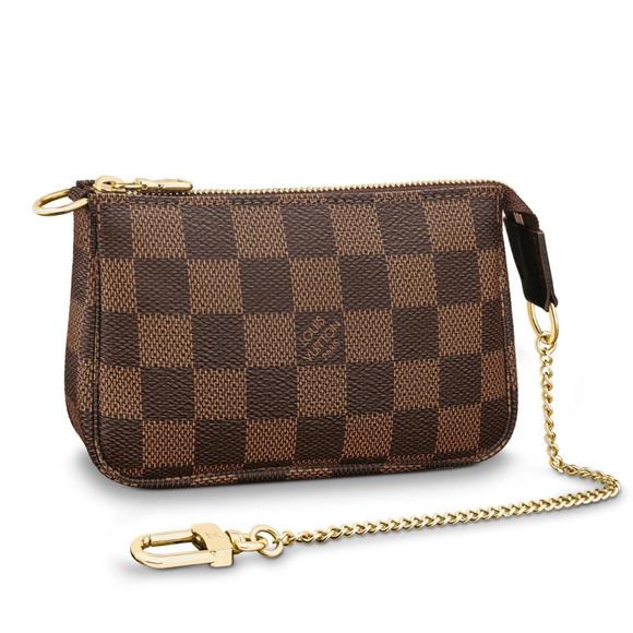 Louis Vuitton Handbags - LV Mini Pochette Accessoires Damier Ebene